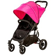 VALCO SNAP 4 BLACK - pink hood - Baby Carriage
