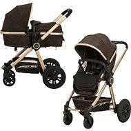 Gmini Grand Combined - Brown/Gold - Baby Carriage