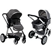 Gmini Grand Combined - Grey/Silver - Baby Carriage