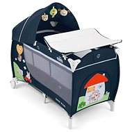 CAM Daily Plus Col. 222 blue - Travel Bed