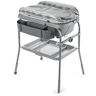 Chicco Cuddle & Bubble Changing Table with Bathtub - SILVER - Changing Table