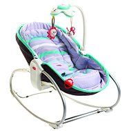 Tiny Love Rocker Napper 3in1 Gray / Turquoise - Deck Chair