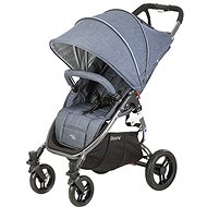 VALCO SNAP 4 BLACK TAILOR MADE stroller, black construction/denim - Baby Carriage