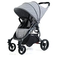 VALCO SNAP 4 BLACK TAILOR MADE stroller, black construction/gray shed - Baby Carriage
