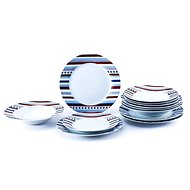 Bergner SET 18pcs plates, porcelain STARLINE - Dining Set