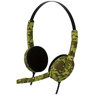 Bigben PS4HEADSETCAMO Green camouflage - Headset