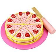 Bigjigs Wooden cake with strawberries - Play Set