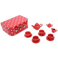 Red polka dot tea set - Play Set