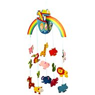 Bigjigs Hanging Carousel - Noah's Ark - Crib Toy
