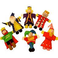 Bigjigs Fingers Puppets - Set of fairy-tale characters - Figure Set