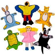 Bigjigs Fingers - Animals Set - Figure Set