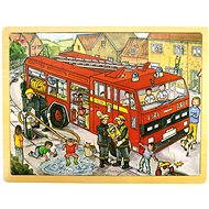 Wooden puzzle - Firefighters - Puzzle