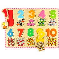 Bigjigs Wooden Counting Puzzle II - Puzzle