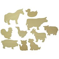 Bigjigs Wooden Circular Patterns - Pictures of pets - Creative Kit