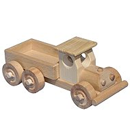 Wooden truck with body - Wooden Model