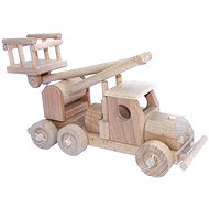 Wooden Toys - Car with a platform - Wooden Model