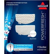 Bissell 2 Shoes and Supplementary Fragrance for Steam Mop with Powerfresh 1016E Fragrance - Accessory