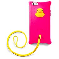 Bone Collection Bubble Lanyard Duck - Mobile Phone Case
