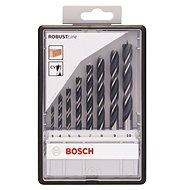 BOSCH Robust Line wood drill bit set, 8pcs - Wood Drill Bit Set