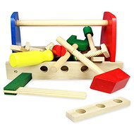 Wooden case with tools - Play Set