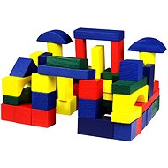 Wooden blocks of 75 pieces - Play Set