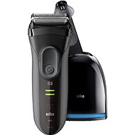 BRAUN Series 3 3050 Clean&Charge Grey - Shaver