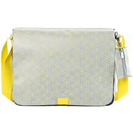 BREE PUNCH 49 CHROME/YELLOW - Laptop Bag