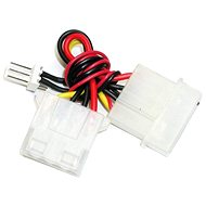 """Power Adapter 4 pin 5.25"""" connector [source] to 3 pin connector [cooler] - Male - Adapter"""