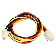 Extension power cable for 3pin connector [cooler] - 0.3m - Extension Cable