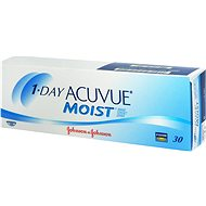 1 Day Acuvue Moist (30 lenses) diopter: -2.50, curvature: 8.50 - Contact Lenses
