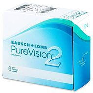 PureVision 2 HD (6 Lenses) Dioptre: -2.50, Curvature: 8.60 - Contact Lenses