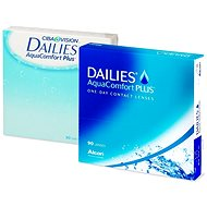 Plus Aquacomfort Dailies (90 lenses) diopter: -3.75, curving: 8.70 - Contact Lenses