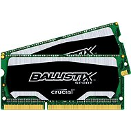 Crucial SO-DIMM 8GB KIT DDR3 1600MHz CL9 Ballistix Sport - System Memory
