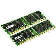 Crucial 2GB KIT DDR 333MHz CL2.5 - System Memory