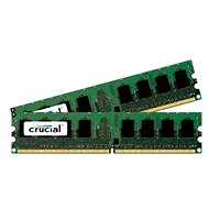 Crucial 4GB KIT DDR2 800MHz CL6 - System Memory
