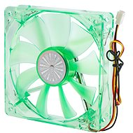 AKASA 12cm Quiet Bright Green Fan AK-274CG-4GNS - Fan