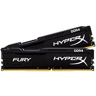 Kingston 16GB KIT DDR4 2400MHz CL15 HyperX Fury Black Series - System Memory