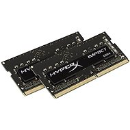 Kingston SO-DIMM 8GB KIT DDR4 2400MHz CL14 HyperX Fury Impact Series - System Memory