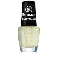 DERMACOL Nail Polish With Effect - Ivory Sparkle 5 ml - Nail Polish