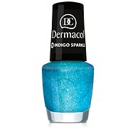 DERMACOL Nail Polish With Effect - Indigo Sparkle 5 ml - Nail Polish