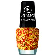 DERMACOL Nail Polish With Effect - Yellow Pixel 5 ml - Nail Polish