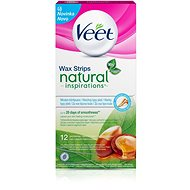 VEET Cold wax. Tapes with argan oil 12 pc - Strips