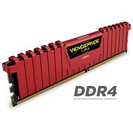 Corsair 16GB KIT DDR4 2400MHz CL16 Vengeance LPX red - System Memory
