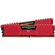 Corsair 16GB KIT DDR4 3600MHz CL18 Vengeance LPX Red - System Memory