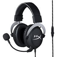 HyperX Cloud Gaming Headset silver - Headphones with Microphone