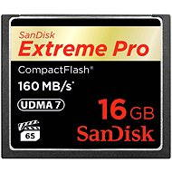 SanDisk Compact Flash 16GB 1000x Extreme Pro - Memory Card