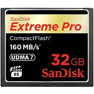 SanDisk Extreme PRO CompactFlash Memory Card 32GB 1000x - Memory Card