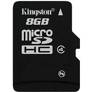 Kingston Micro SDHC 8GB Class 4 - Memory Card