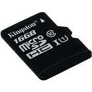 Kingston Micro SDHC 16GB Class 10 UHS-I - Memory Card