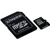 Kingston Micro SDHC 32GB Class 10 UHS-I + SD Adapter - Memory Card